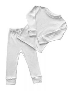 Polyester Long Sleeve Tee & Trouser Set