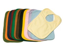 Interlock Bib, 2 Ply-Black-S