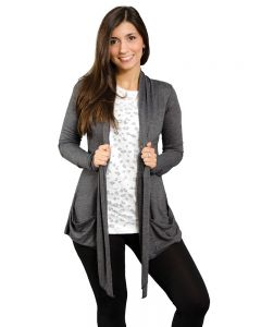 Ladies Open Cardigan with pockets,