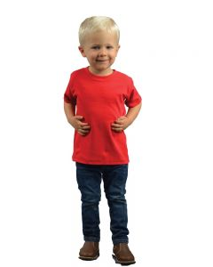 infant polyester blend crew tee,,