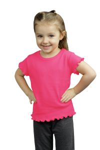 Infant Short Sleeve Lettuce Girls Tee