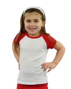 Infant Short Sleeve Raglan Tee