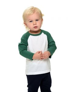 infant raglan tee, baseball tee