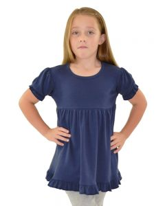 ruffle empire tee,