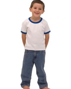 Infant Denim Trousers-Medium Wash-12-18m