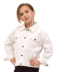 Toddler Jacket-White-2y