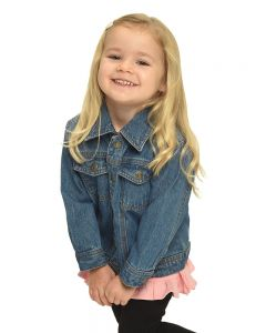 Toddler Denim Jacket-Medium Wash-2