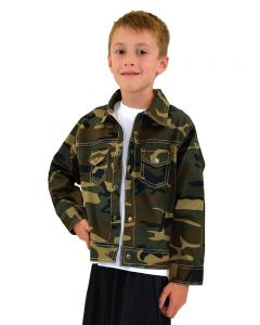 Toddler Camo Jacket-Camo-2y