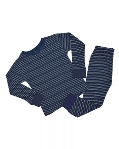 Navy and White Toddler Striped Set
