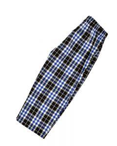 Toddler Blue Plaid Pants