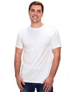 MicroPoly Short Sleeve Men's Crew Neck Tee