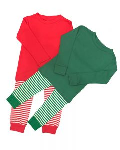 Christmas Pjs Stripped Christmas Pjs Toddler Striped Christmas Pajamas