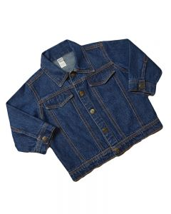 Infant Denim Jacket-Medium Wash-12-18m
