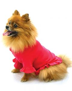 Dog Ruffle Tee Ruffle Tshirt for Dogs,,