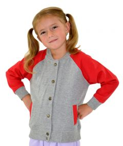 Toddler Fleece Varsity Jacket, Toddler Fleece Jacket,